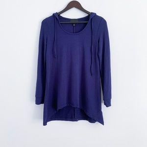 Blue yoga hoodie